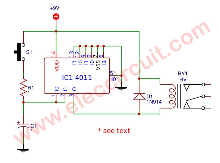 Surge Protection Circuit For Power Supplies Eleccircuit Com Surge Protection Circuit Electronics Circuit