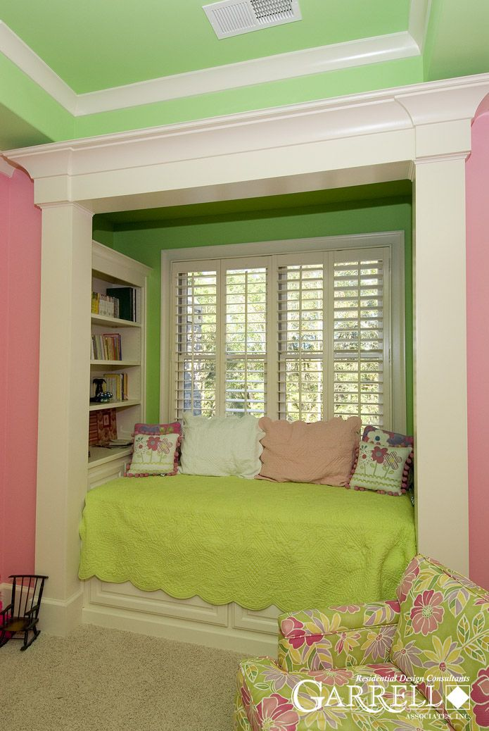 84 best images about beadboard window seats beds on for Bed nook ideas