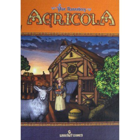 Mayfair Games Agricola Board Game, Multicolor