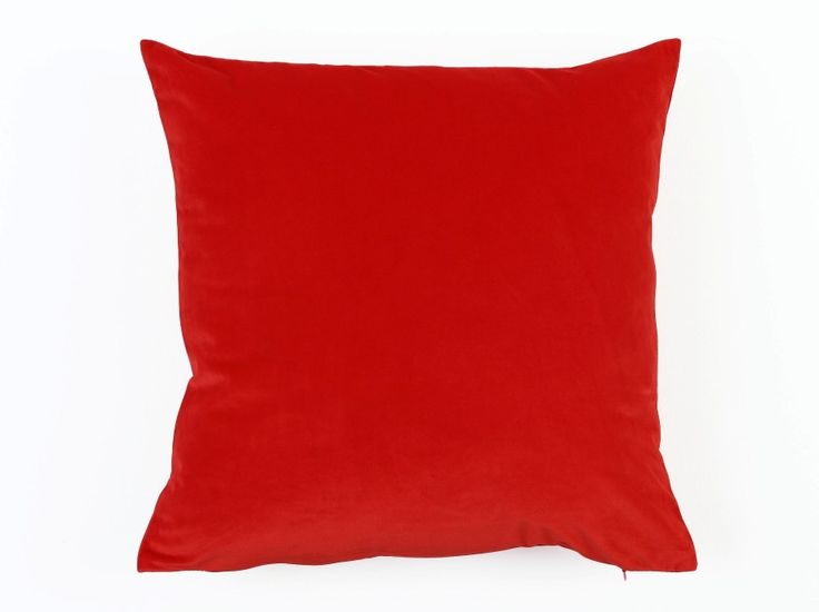 Super Soft Velvet Cushion Cover Red