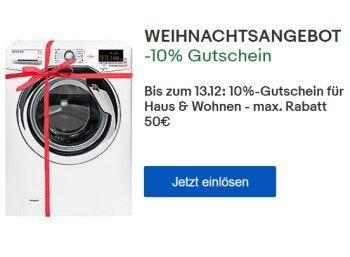 """Ebay: Küchen- und Haushaltsartikel mit zehn Prozent Rabatt https://www.discountfan.de/artikel/technik_und_haushalt/ebay-kuechen-und-haushaltsartikel-mit-zehn-prozent-rabatt.php Bei Ebay gibt es ab sofort und nur bis zum 13. Dezember 2017 einen Rabatt von zehn Prozent auf Artikel der Rubriken """"Küche"""", """"Bad"""" und """"Heimwerker"""". Mit dem Gutschein sind auch zahlreiche Markenporodukte zu Bestpreisen zu haben. Ebay: Küchen- und... #Gutschein,"""