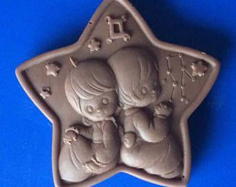 Set von 3-Zwillinge Praline - SUNSIGN Süßigkeiten - Sternzeichen Horoskop Partei zugunsten