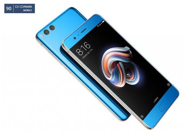 Xiaomi Mi Note 3 เอาเรื่องอยู่ ทำคะแนนกล้อง DxOMark แซง iPhone 7 Plus -  Siamphone