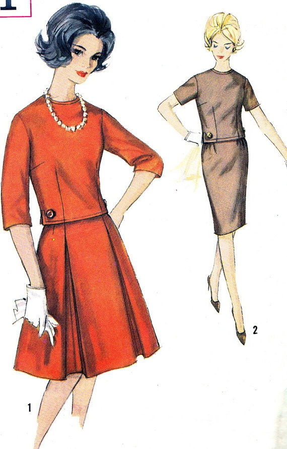 Vintage Sewing Pattern 1960s Simplicity 4611 Plus by paneenjerez, $16.00