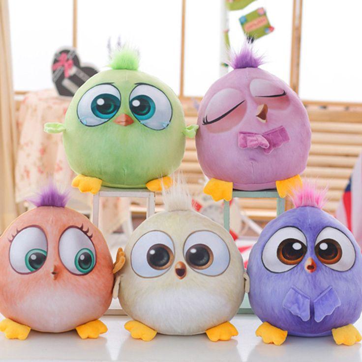 Животных подушки творческие птицы подушка мультфильм дети милые короткие плюшевые игрушки весело играть массаж новый стиль 5 цветов S4ZT017