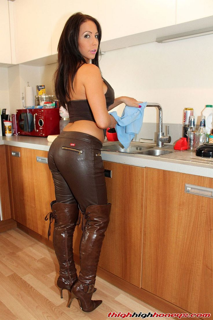from Richard hot women in leather boots fucking