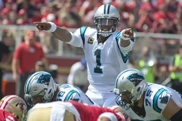 CHARLOTTE, N.C. -- The Carolina Panthers offense had been rather ordinary, but that was camouflaged for two games by an impressive defense.
