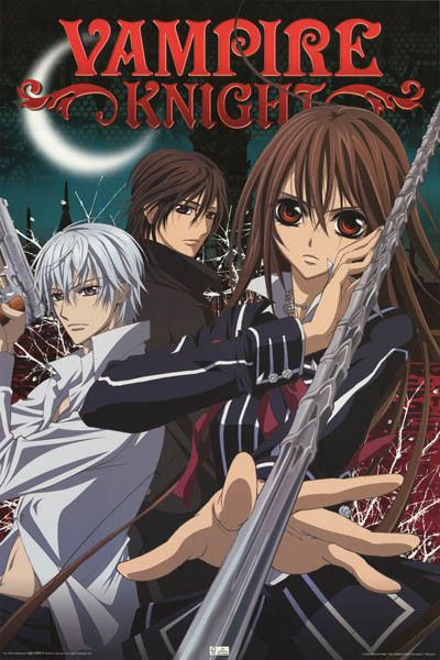 A great poster of the cast from the anime series Vampire Knight! Fully licensed…