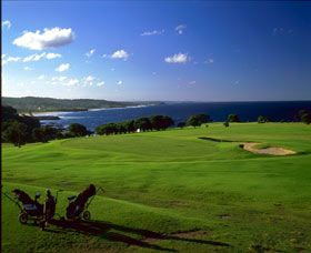 Narooma golf course #NSW #golf #travel #holiday