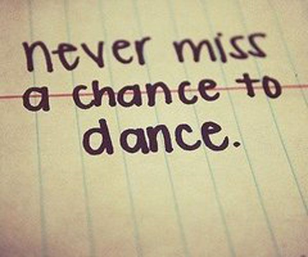 For all my crazy dancer friends!!!! I miss being able to say this! :/  #Quote