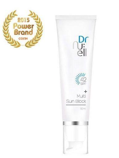 Dr. Nu:ell Mulit Sun Block 50ml Korea #DrNuellMulitSunBlock
