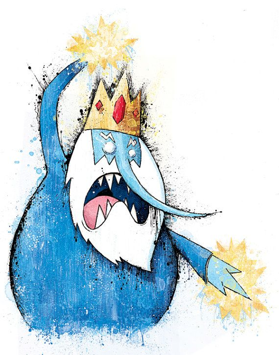 "Adventure Time's ""Evil Urges"" Art Print"