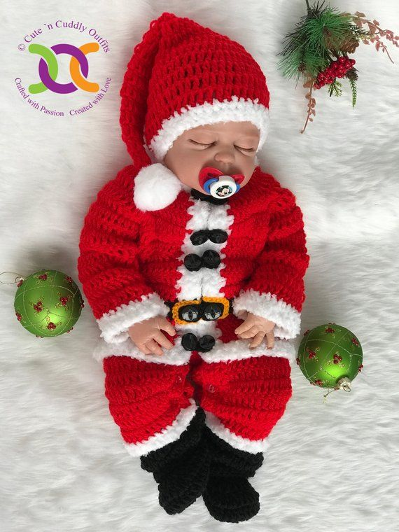 Newborn Baby Christmas Decoration Photography Props Green Strip Bow Winter Hats