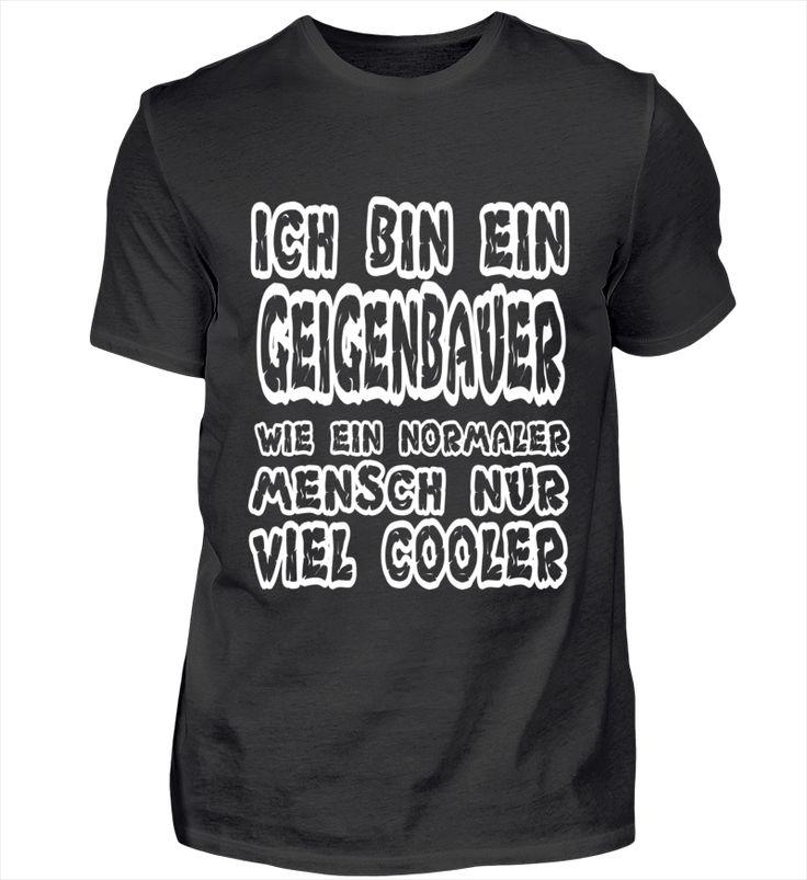 Cooler Geigenbauer