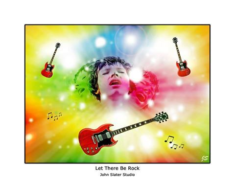 Let There Be Rock © John Slater Studio