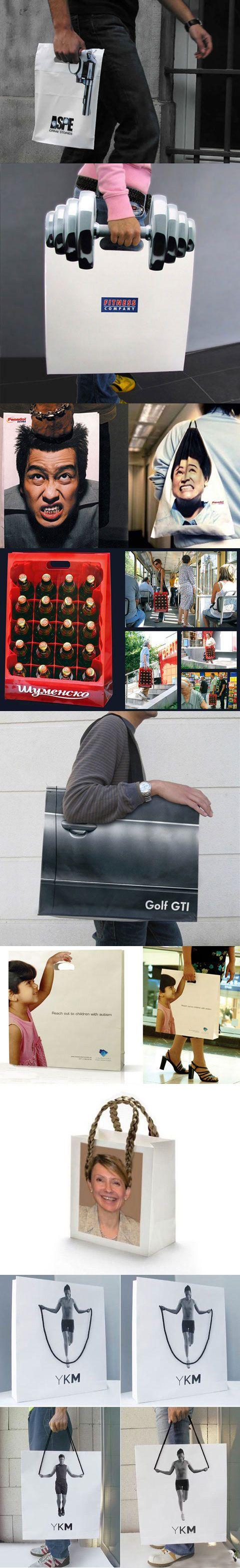 Bolsas de compra originales