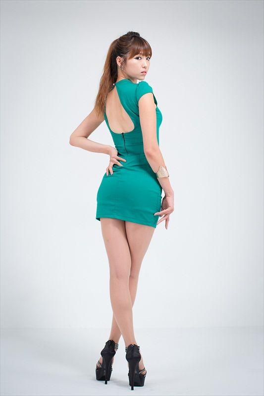 Lee Eun Hye – Office Lady In Green