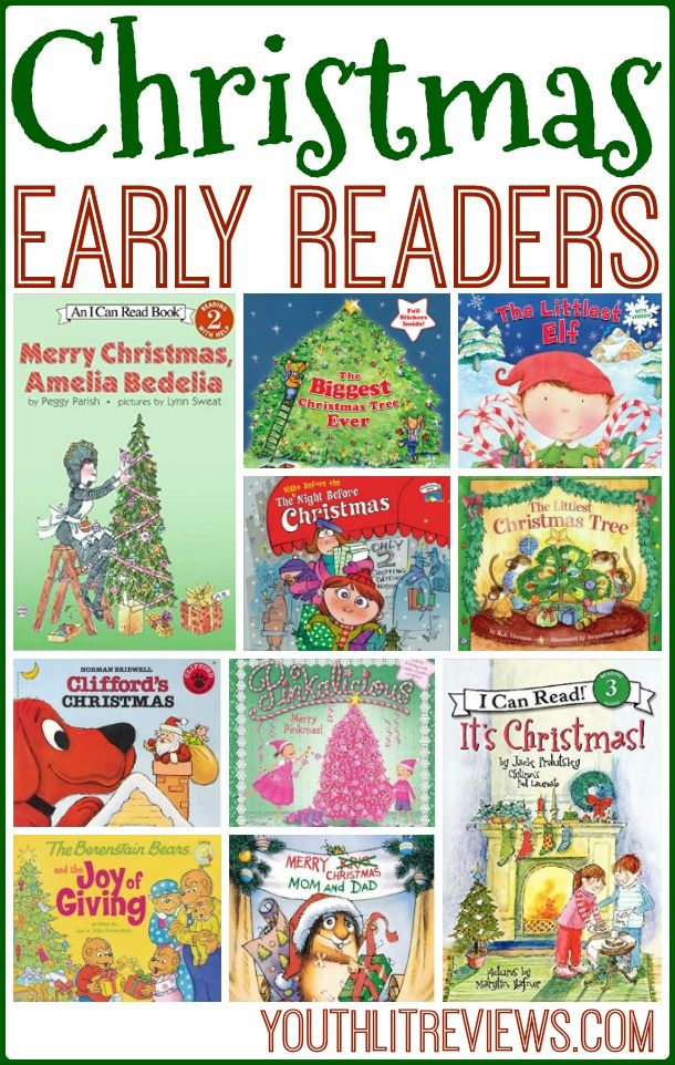 Christmas Early Readers Awesome Children S Books Pinterest