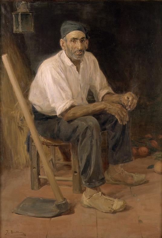 El Tío Andreu de Rocafort. Obra de José Benlliure y Gil
