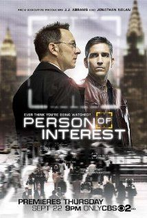 Person of Interest. Centers on ex-CIA hitman and a scientist who team up to prevent crimes before they happen.