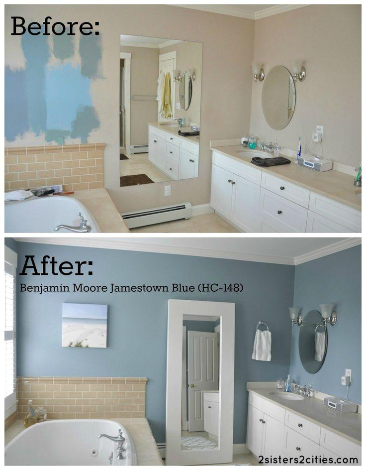 √ 27 Cool Bathroom Paint Color Schemes | Best Ideas for 2019