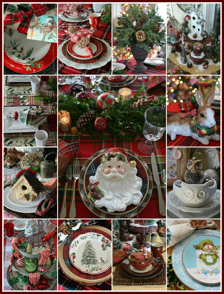 'Tis the Season Christmas Table Round-Up | homeiswheretheboatis.net
