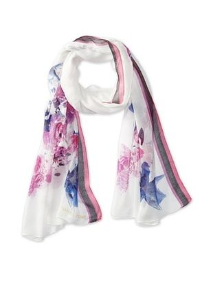 43% OFF Ivanka Trump Women's Japenese Garden Oblong Scarf, Purple