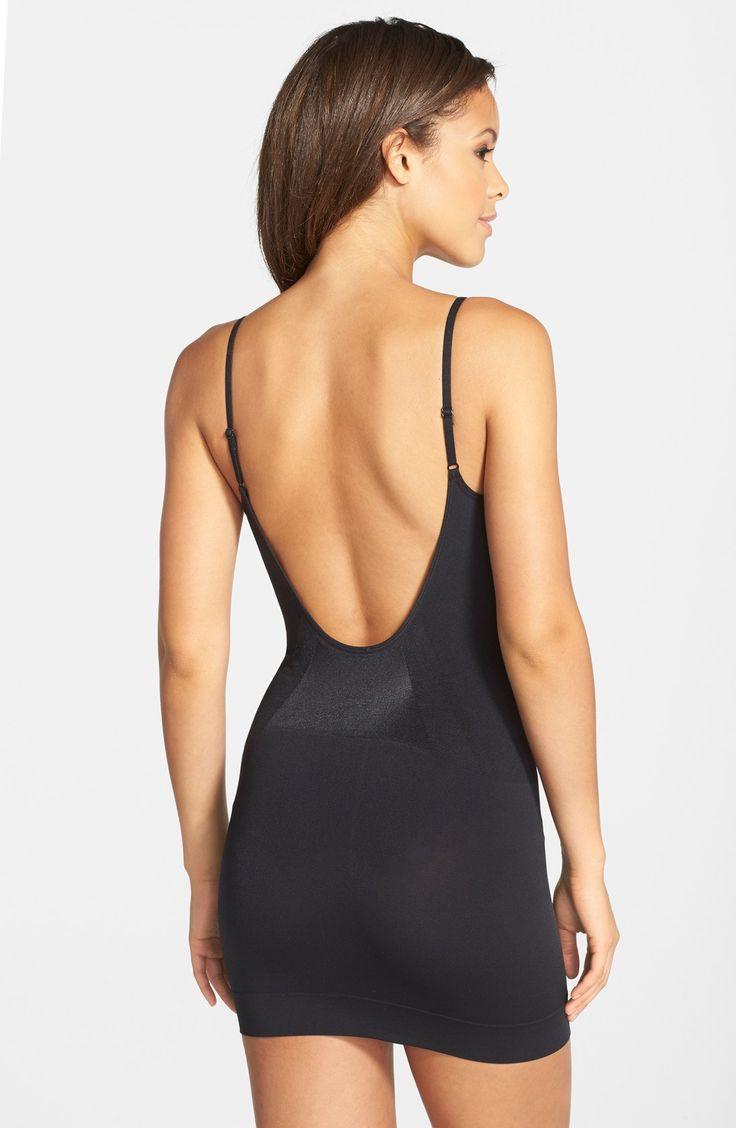 cf8ad2a41e879869096323f9c2220503 low back shapewear bridesmaid outfit