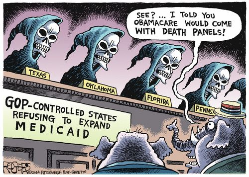 Image result for gop health care plans cartoons