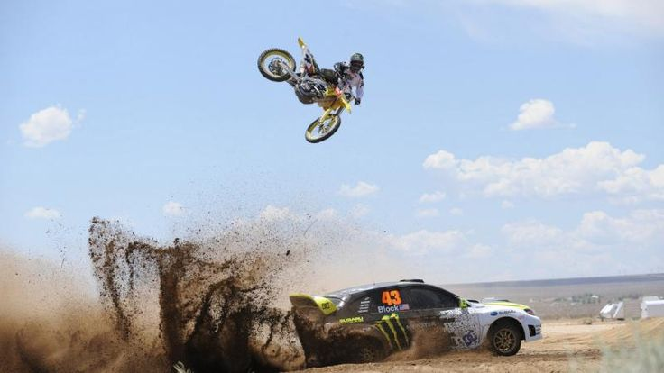 Off Road Competition Car Motorcycle
