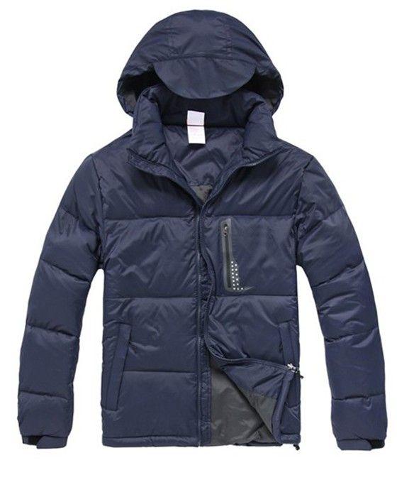 Outdoor Zipper Warm Windproof Men39s Down Jackets  Price: $153.42 USD