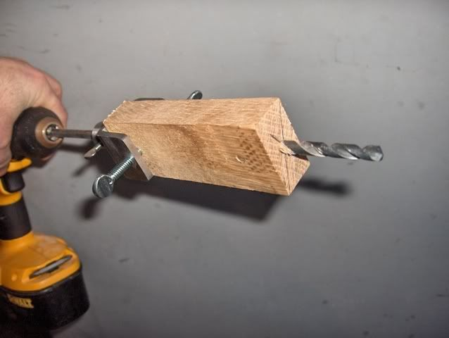 Hidden tang drill guide (DIY tool) - The Knife Network Forums : Knife Making Discussions