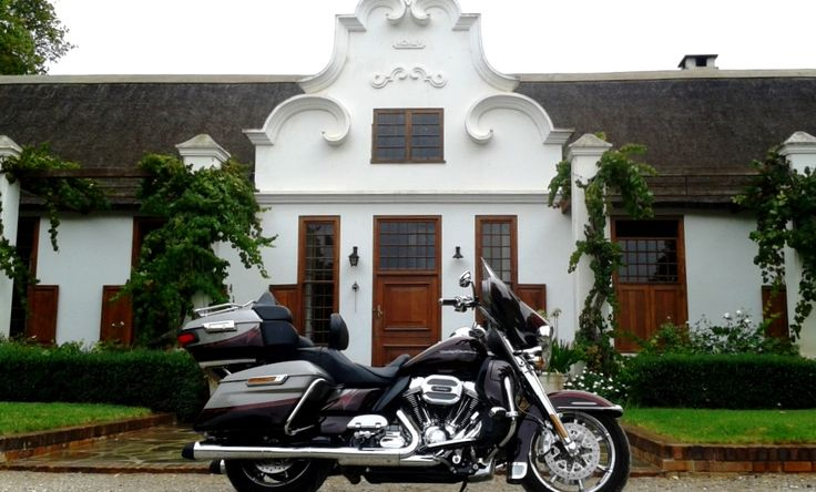 #HarleyDavidson rally in Montagu. Some of the riders decided to give Zandvliet a visit