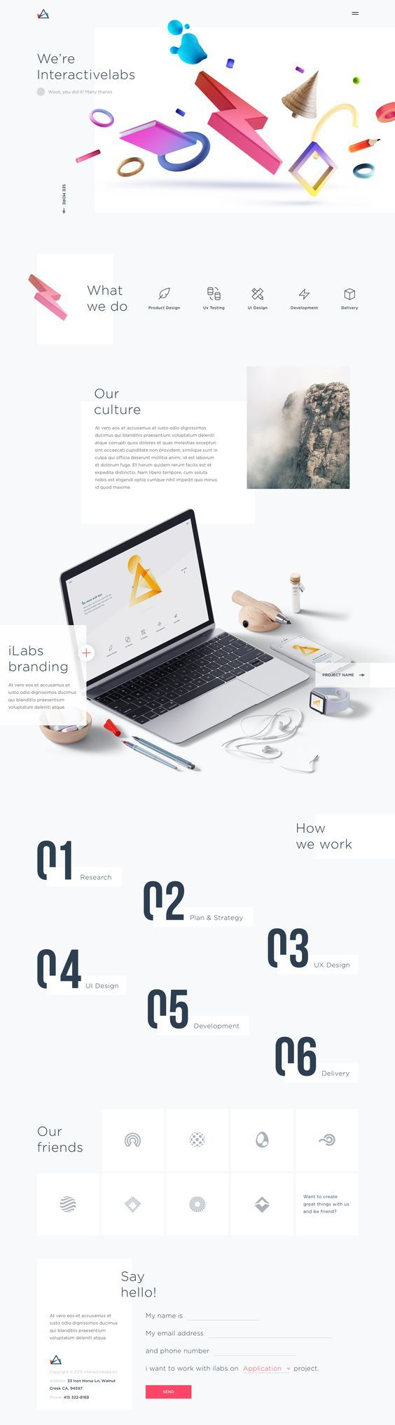 Hoang Nguyen- Sai Gon Hoang is an UX/UI designer who has a clean and minimal visual approach. His designs include a lot of motion as well as graphic experimentations. He has been working on projects that involve a lot of customer interactions for corporates and business firms.: