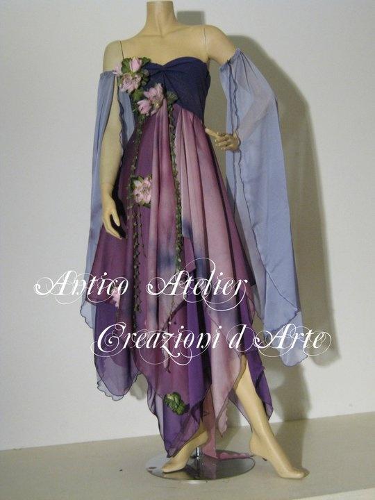 Antico Atelier Creations   faery dress