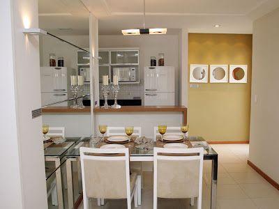 Salas de jantar pequenas