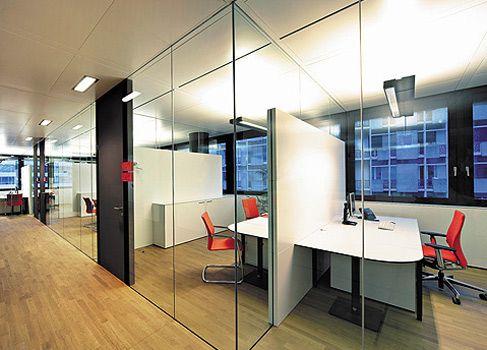 Glastrennwände | Lindner Group