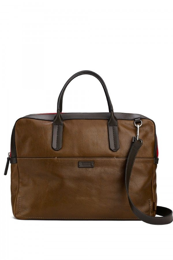this slim bag is perfect for him to take to the office everyday