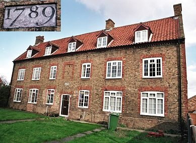Kent House, Black Horse Lane, Chatteris (formerly Chatteris parish workhouse).     Now four residential flats. (2003)