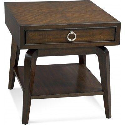 Классический приставной столик в стиле ретро. Модель выполнена в вишневой отделке. Столик имеет один легко выдвигаемый ящик для хранения и дополнительную открытую полку.             Метки: Журнальный стол.              Материал: Дерево.              Бренд: Bassett Mirror.              Стили: Классика и неоклассика.              Цвета: Темно-коричневый.