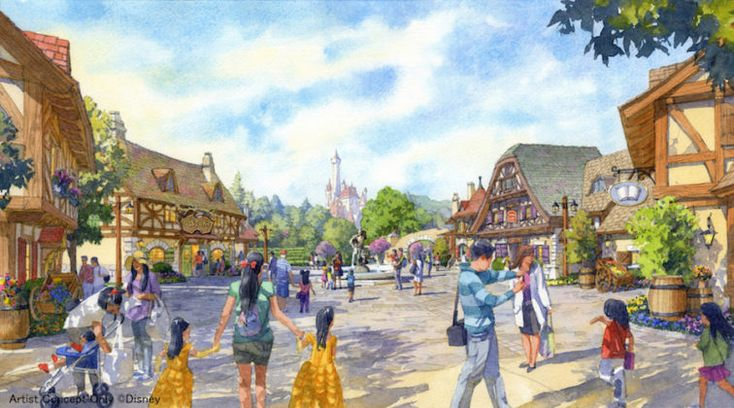 Tokyo Disneyland Expansion Breaks Ground - LaughingPlace.com