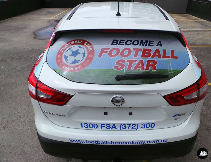 Football Star Academy Vehicle Wrap | Nissan Qashkai #vehiclewrap #soccer #training #smallbusiness #advertising #AutoSkin