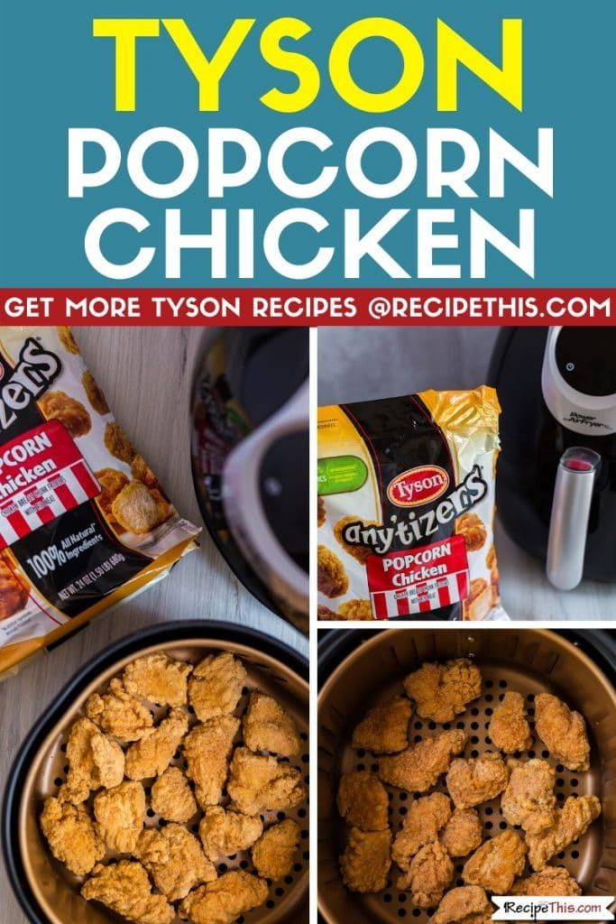 How To Cook Tyson Frozen Chicken In The Air Fryer in 2020