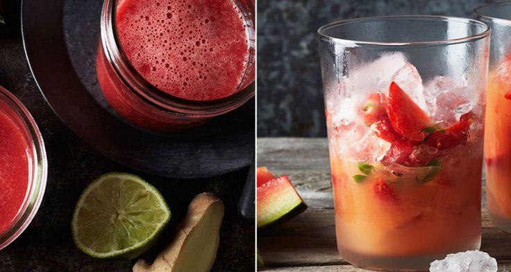 3 alkoholfria jordgubbsdrinkar – på max 4 ingredienser