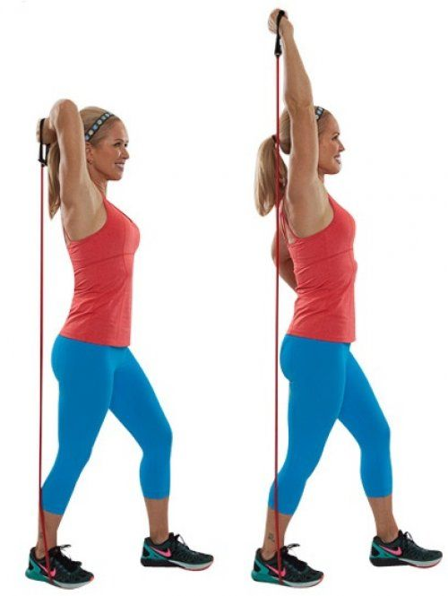 10 Resistance Band Arm Exercises Resistance Workout