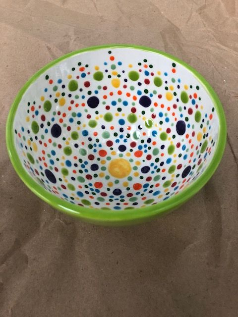 Cereal Bowl For Every Season Pottery Painting