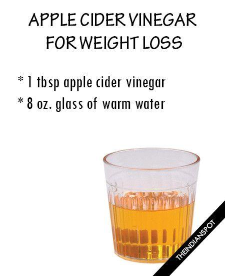 Apple cider vinegar boost weight loss