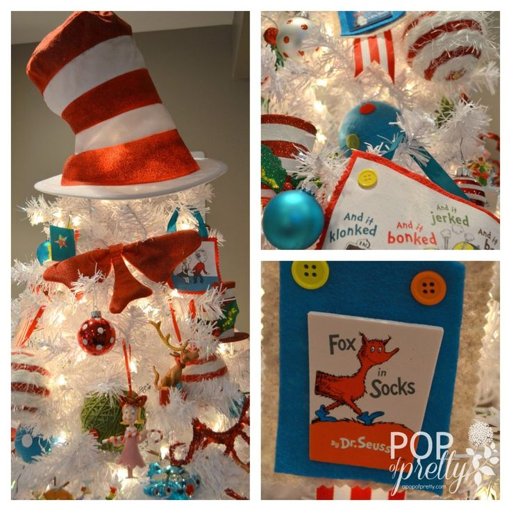 Holiday, Hoobie, Whatty? Our Dr. Seuss Christmas Tree (2013)! - A Pop of Pretty: Canadian Decorating Blog | A Pop of Pretty: Canadian Decorating Blog