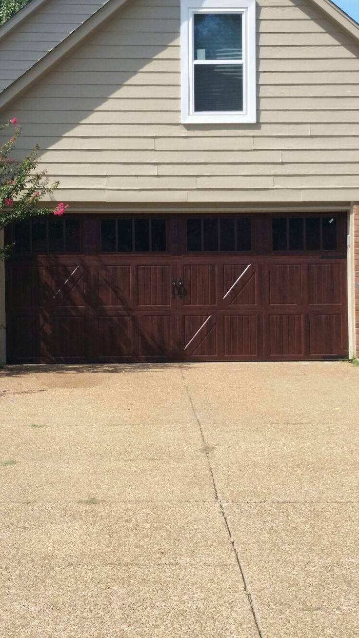 40 best new garage doors memphis tn images on pinterest garage beautiful mahogany wood grain garagedoor by bartlettgaragedoors in memphis this is the