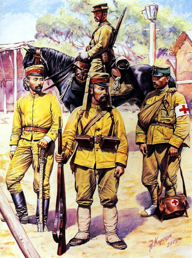 Japanese army, Russo-Japanese War